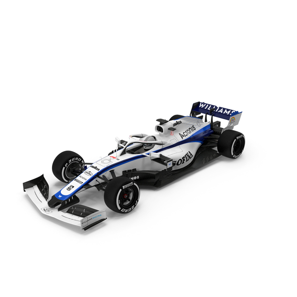 Williams FW43 F1 Car PNG & PSD Images