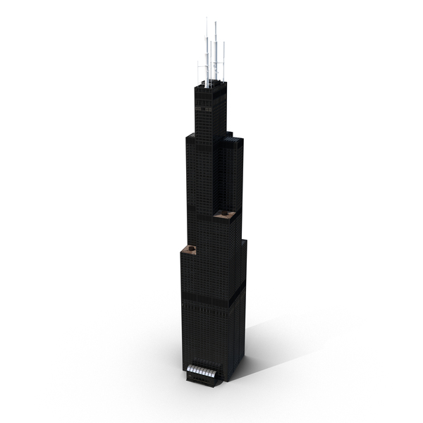 Willis Tower PNG & PSD Images