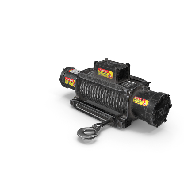 Winch Black Used PNG & PSD Images