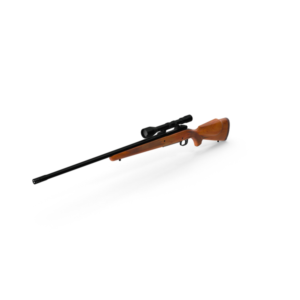 Sniper Rifle: Winchester Model 70 PNG & PSD Images