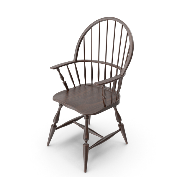 Arm Chair: Windsor Armchair PNG & PSD Images