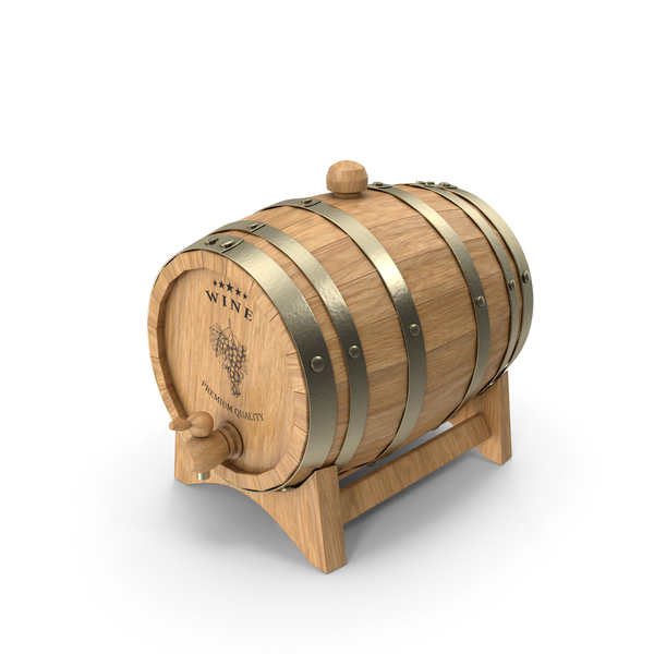 Wine Barrel PNG & PSD Images