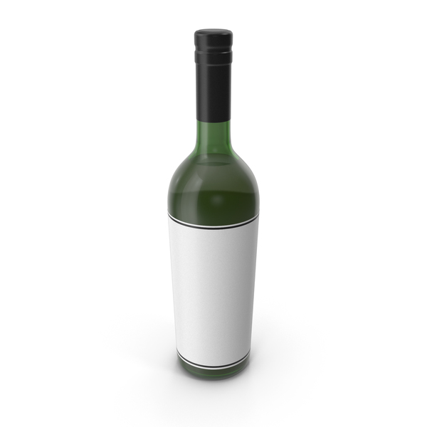 Wine Bottle Black PNG & PSD Images