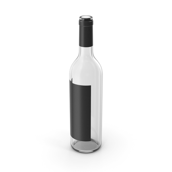 Wine Bottle Empty PNG & PSD Images