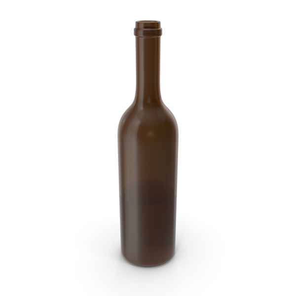 Wine Bottle Opened PNG & PSD Images