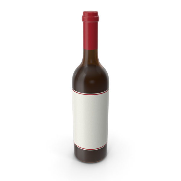 Wine Bottle Red White PNG & PSD Images