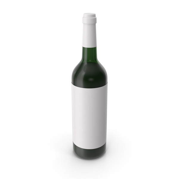 White: Wine Bottle PNG & PSD Images
