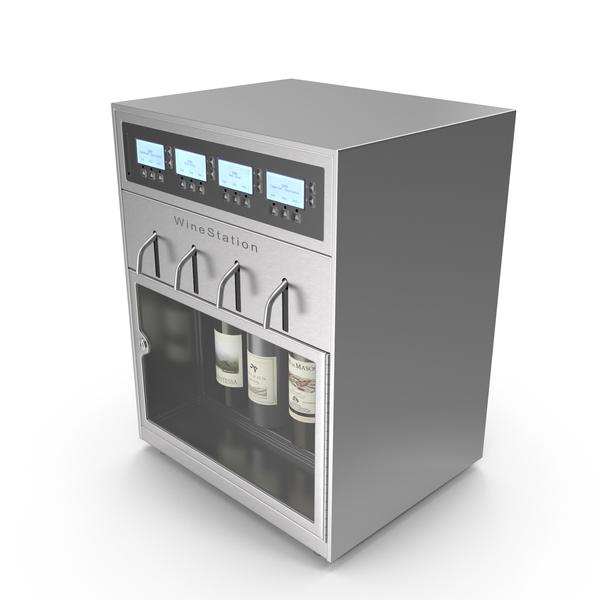 Drink Dispenser: Wine Station PNG & PSD Images