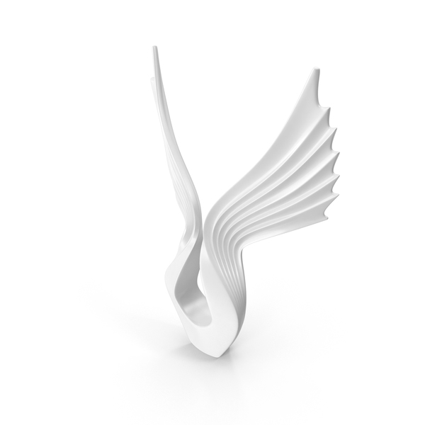 Wings Sculpture PNG & PSD Images