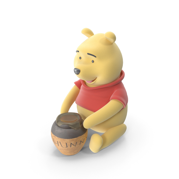 Winnie the Pooh Hunny PNG & PSD Images