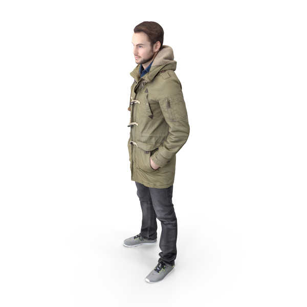 Winter Casual Man PNG & PSD Images