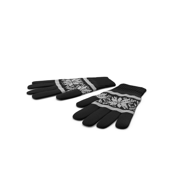 Winter Gloves PNG & PSD Images