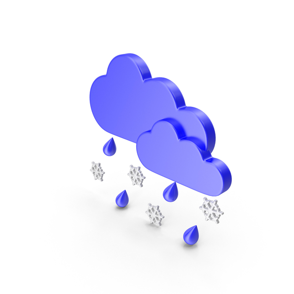 Cartoon Cloud: Wintry Mix Clouds PNG & PSD Images