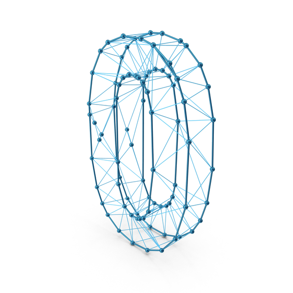 Wire Alphabet Number 0 PNG & PSD Images