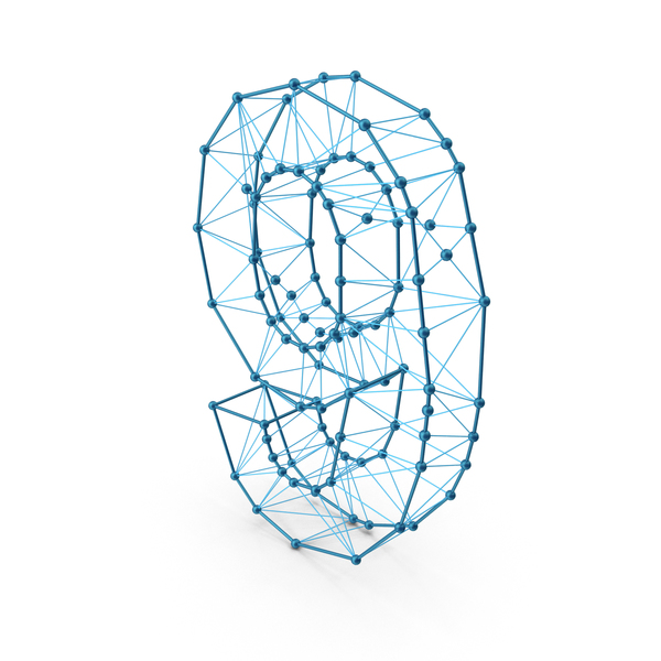 Wire Alphabet Number 9 PNG & PSD Images