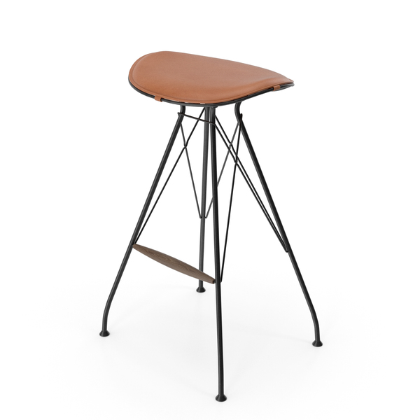 Wire Bar Stool High PNG & PSD Images