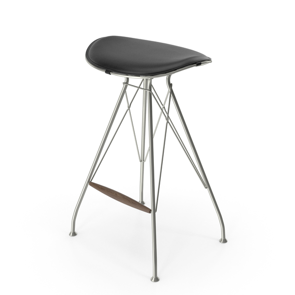 Wire Bar Stool Low PNG & PSD Images