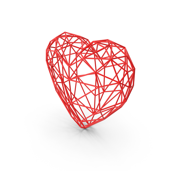 Wire Heart PNG & PSD Images