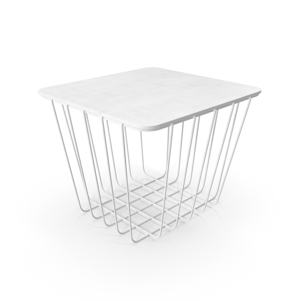 End Table: Wire Seating PNG & PSD Images