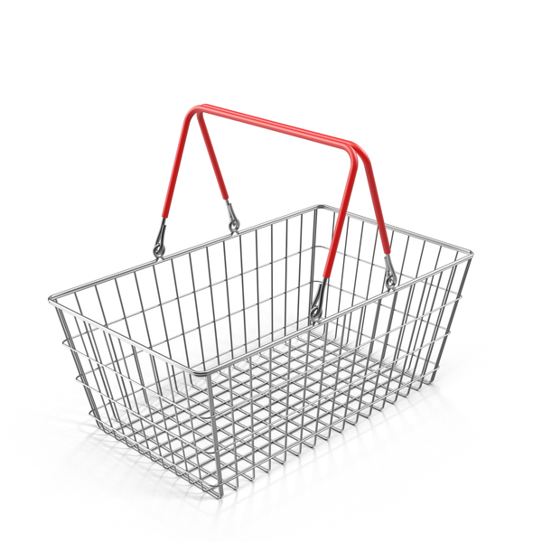 Wire Shopping Basket Object