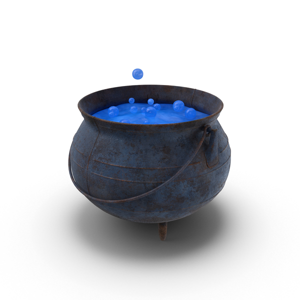 Witch Cauldron PNG & PSD Images