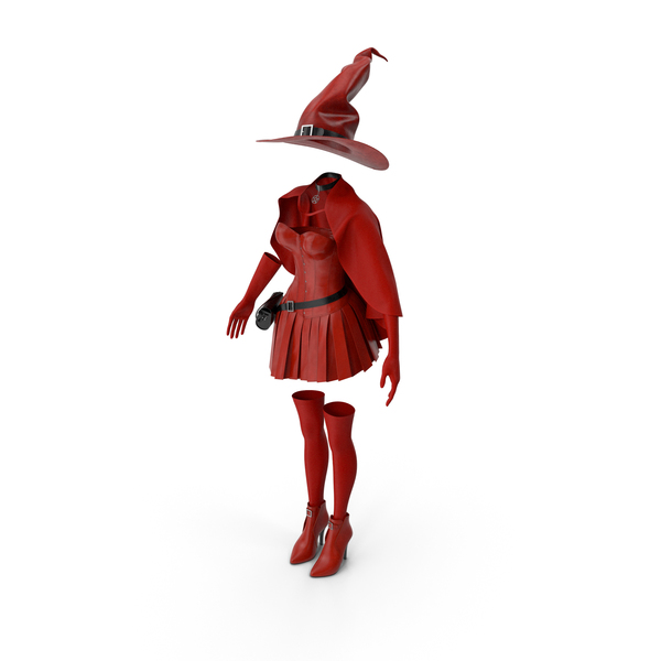 Witch Costume PNG & PSD Images