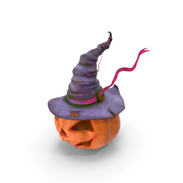 Witch Hat Pumpkin PNG & PSD Images