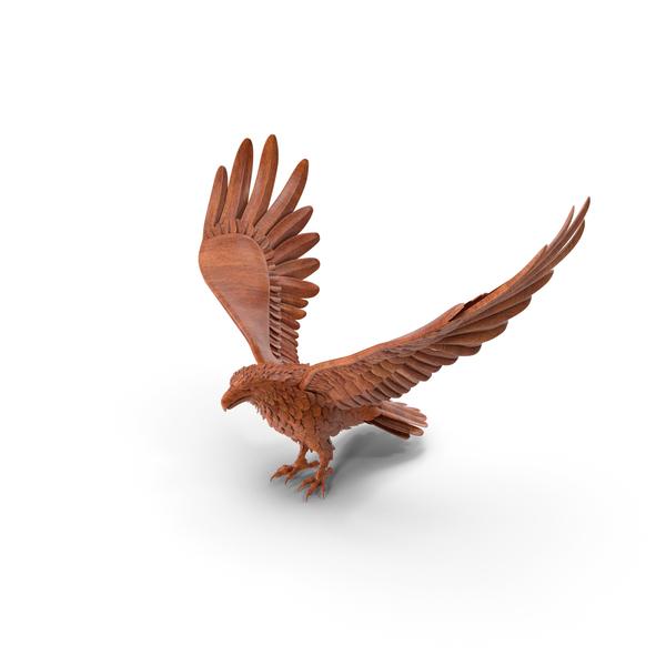 Woden Eagle PNG & PSD Images