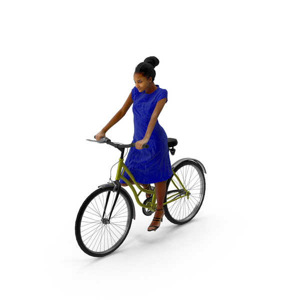 Woman Biking PNG & PSD Images