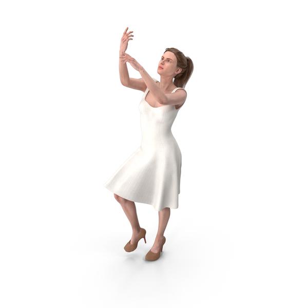 Woman Posing PNG & PSD Images