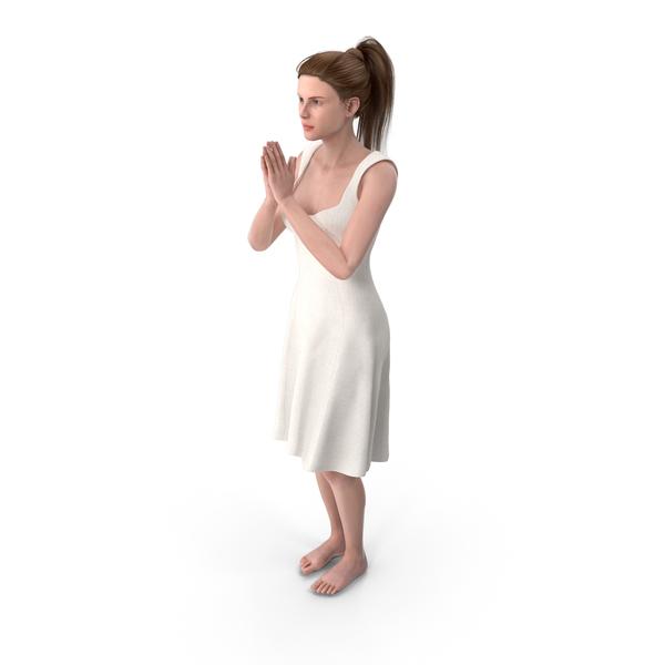 Woman Pray PNG & PSD Images