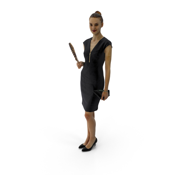 Woman Standing Barbara PNG & PSD Images