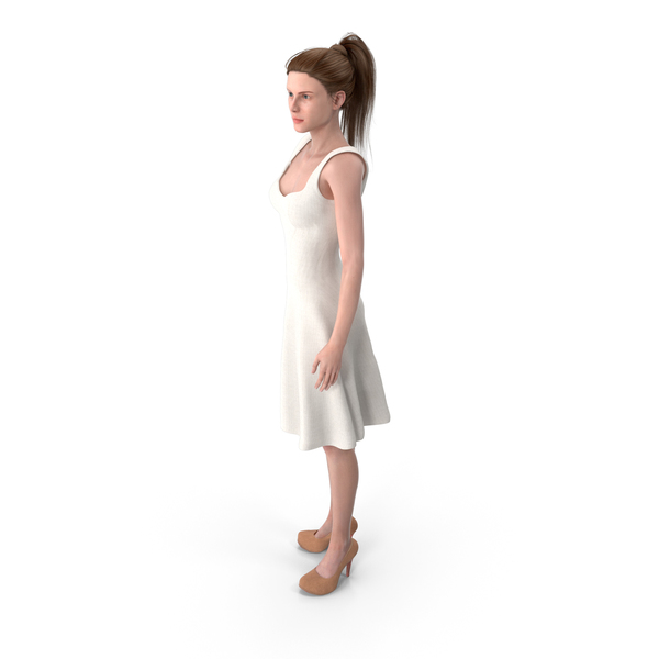 Woman Turned PNG & PSD Images