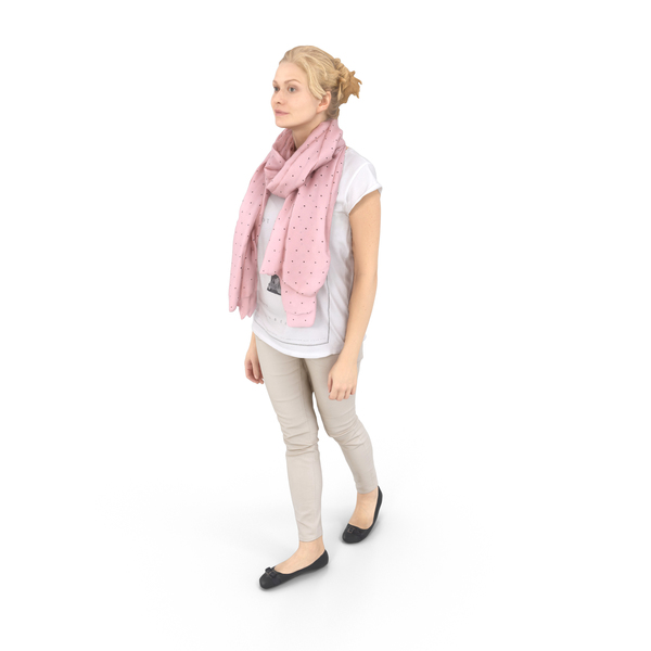 Woman Walking Casual PNG & PSD Images