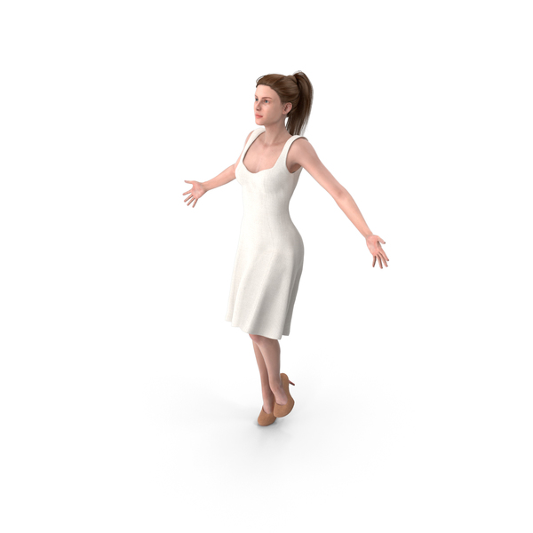 Woman with Arms Outstretched PNG & PSD Images
