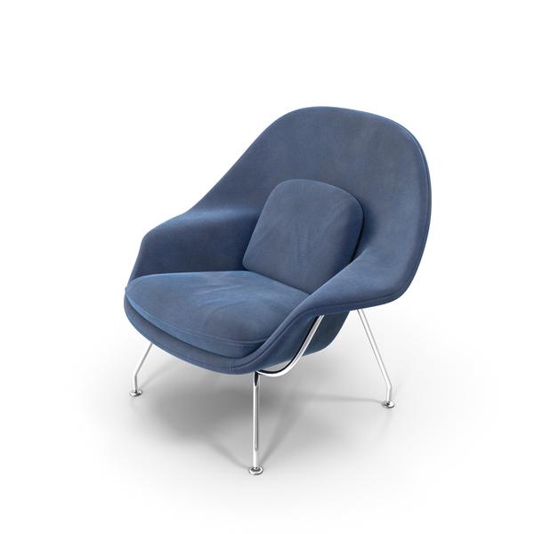 Womb Chair by Eero Saarinen PNG & PSD Images