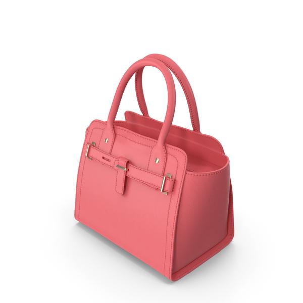 Handbag: Women Handag Pink PNG & PSD Images