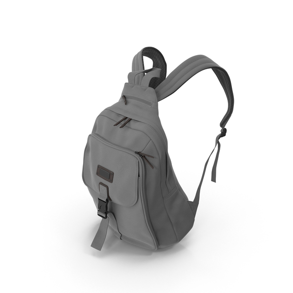 Women's Backpack Gray PNG & PSD Images