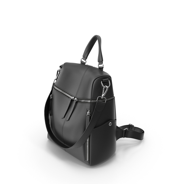 Women's Backpack Purse PNG & PSD Images