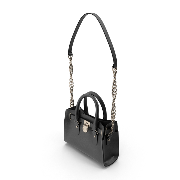 Handbag: Women's Bag Black PNG & PSD Images