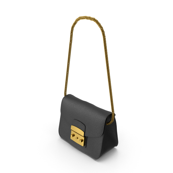 Purse: Women's Bag Black PNG & PSD Images