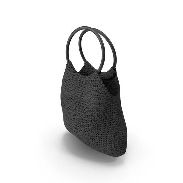 Purse: Women's Bag Black PNG & PSD Images