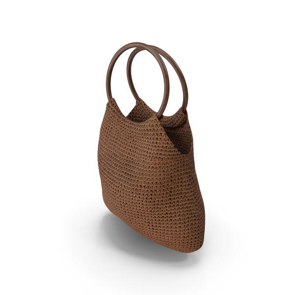 Purse: Women's Bag Brown PNG & PSD Images