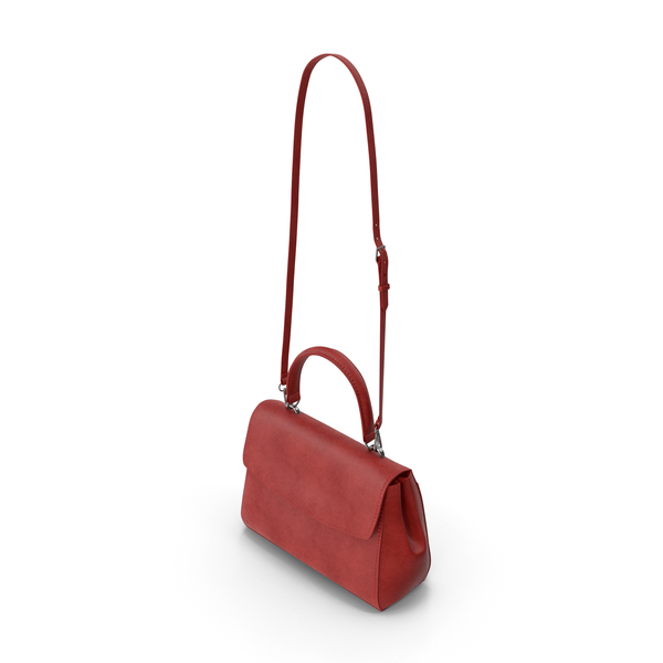 Purse: Women's Bag Red PNG & PSD Images