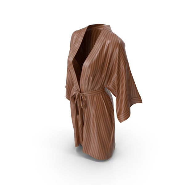 Martial Arts Robe: Women's Bathrobe Brown PNG & PSD Images