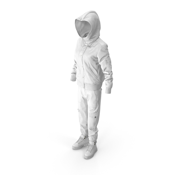 Coat: Women's Boots Pants Down Jacket Pullover  White PNG & PSD Images