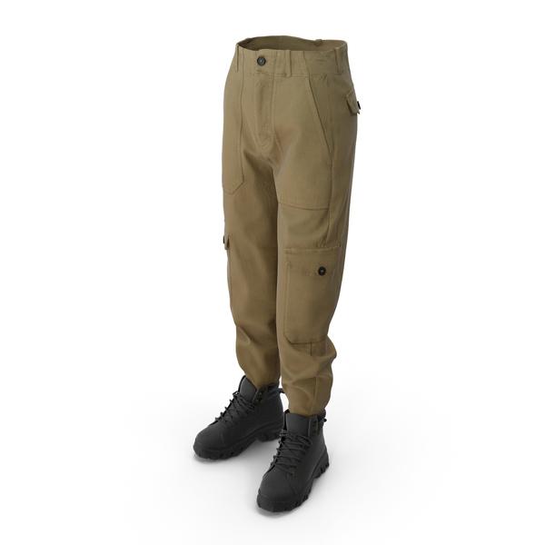 Women's Boots Pants Mix PNG & PSD Images