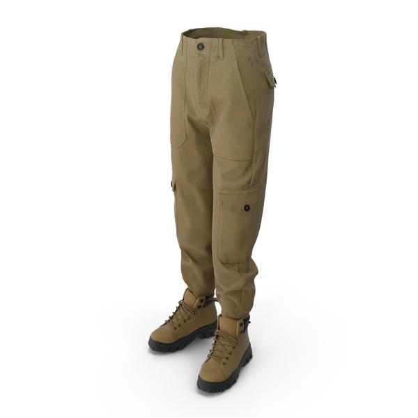 Women's Boots Pants PNG & PSD Images