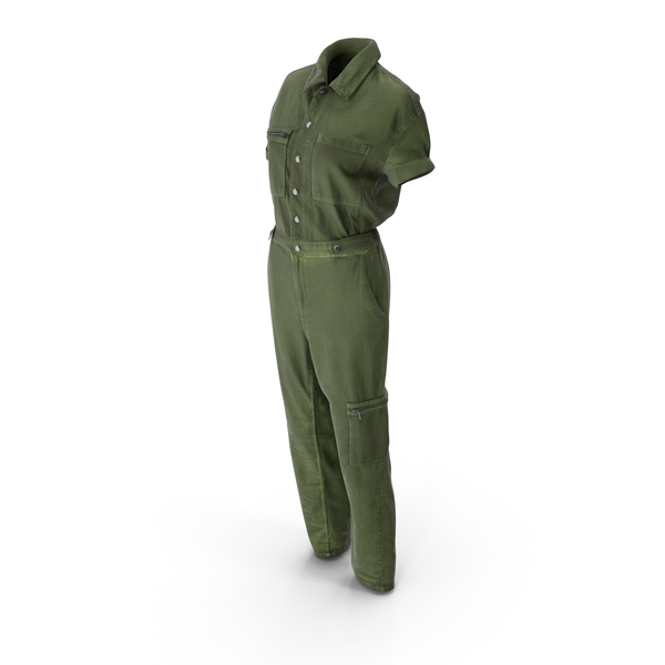 Women's Coveralls PNG & PSD Images
