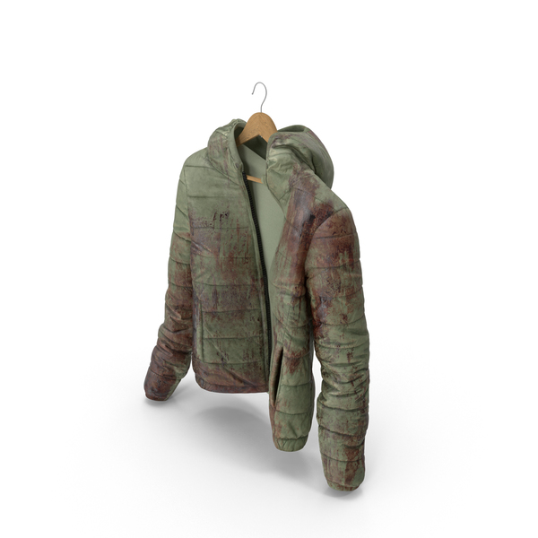 Women's Down Jacket Blood On Hanger PNG & PSD Images